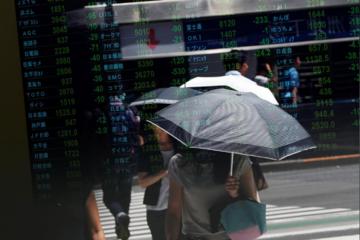 Lo ngại triển vọng kinh tế thế giới và đàm phán Brexit, chứng khoán châu Á trái chiều
