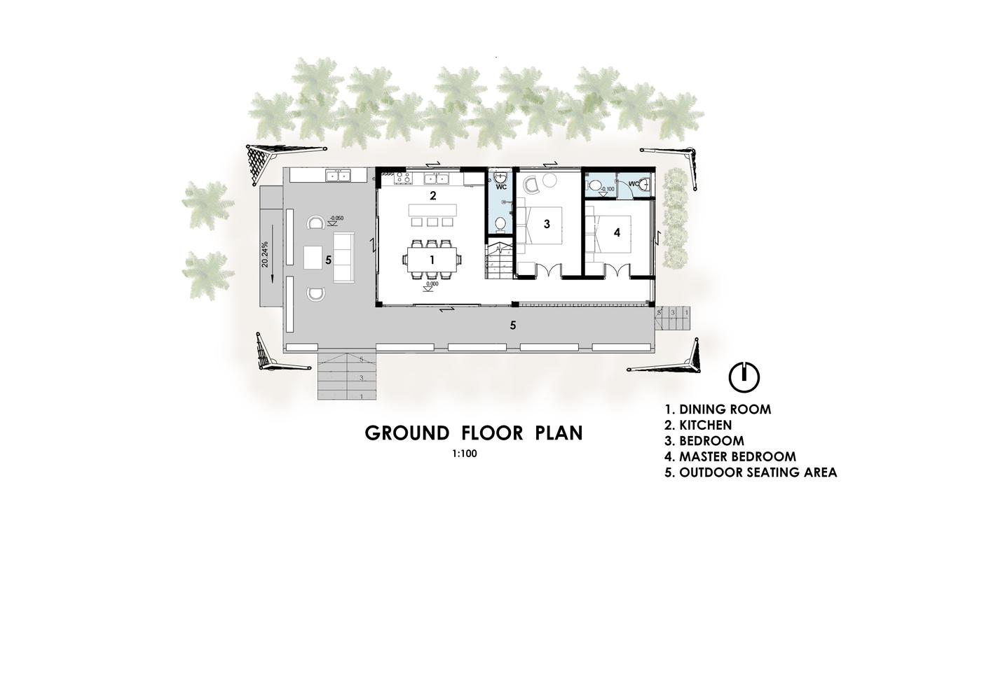 - floor plan 1571456874 - Ngôi nhà 350 triệu đồng ở Đà Nẵng lên báo Mỹ