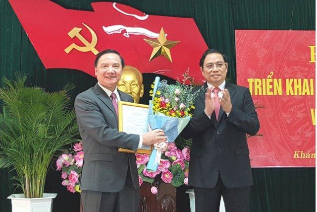 Khánh Hòa có Bí thư Tỉnh ủy mới thay ông Lê Thanh Quang