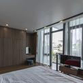 <p> Phòng ngủ được thiết kế sang trọng.</p>