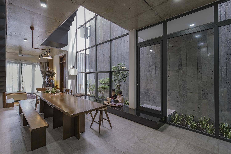 Nhà 119 m2 tại Bình Dương trông rộng hơn diện tích thực nhờ thiết kế