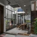 <p> Tầng 1 gồm phòng khách, gian bếp và phòng ngủ.</p>