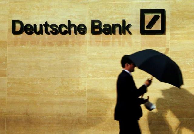 Deutsche Bank bị cáo buộc sử dụng chiêu trò để làm ăn ở Trung Quốc. Ảnh: Reuters.