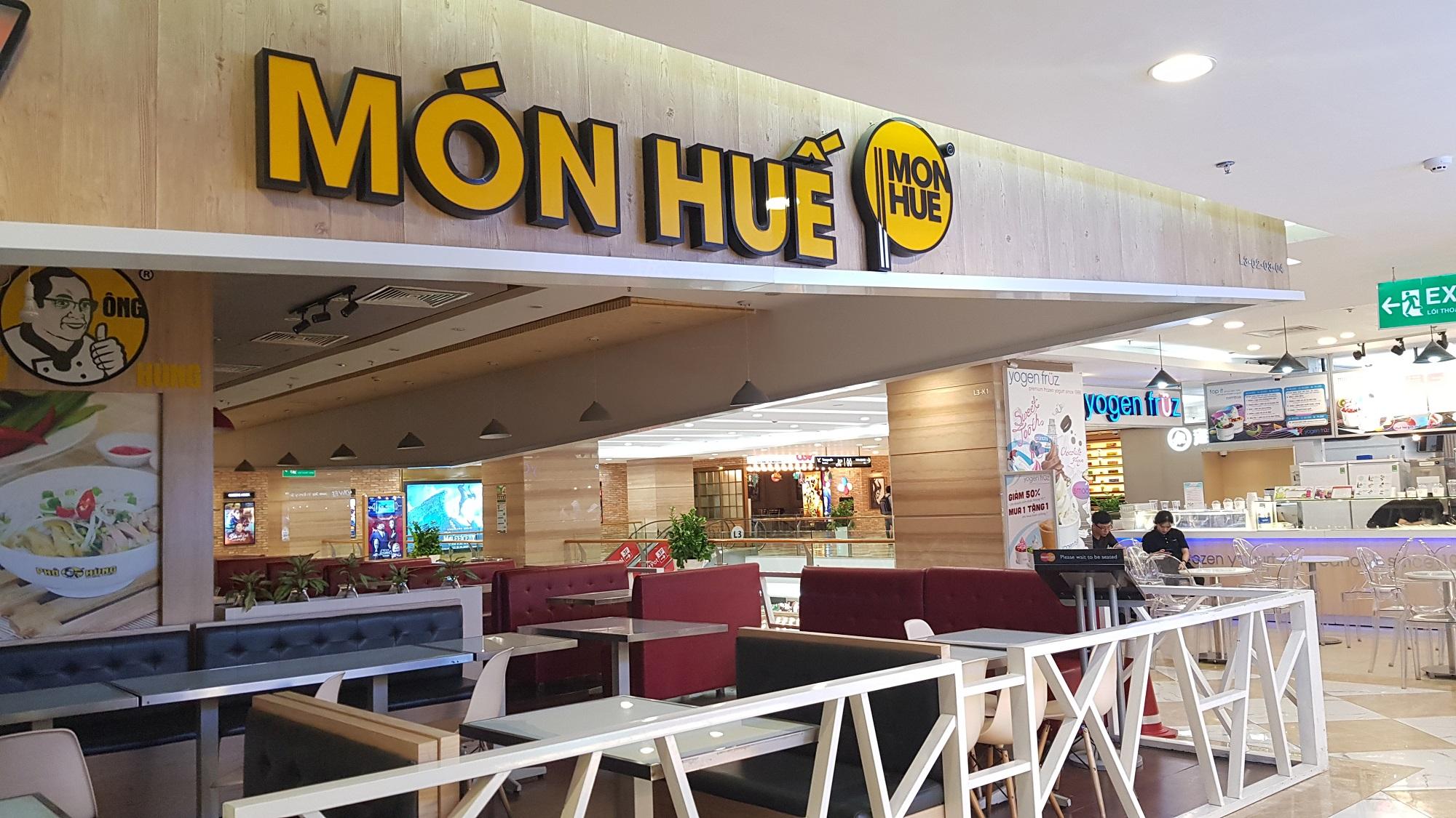 Hàng loạt cửa hàng Món Huế, Phở Ông Hùng đóng cửa, tìm người thuê mới tại Hà Nội, TP HCM