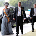 <p> Thành viên hoàng gia một số nước đã có mặt tại Tokyo để dự lễ đăng cơ. Trong ảnh và Vua Willem-Alexander và Hoàng hậu Maxim của Hà Lan.</p>