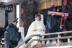 Nhật hoàng, hoàng hậu mặc đồ trắng bái tổ tiên trước lễ đăng cơ