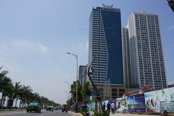 Đà Nẵng cưỡng chế công trình sai phạm của Mường Thanh