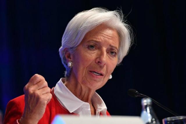 Christine Lagarde, người sẽ kế nhiệm ông Draghi. Ảnh: Strait Times.
