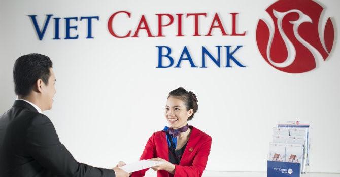 Lãi Viet Capital Bank giảm 57% trước lên sàn