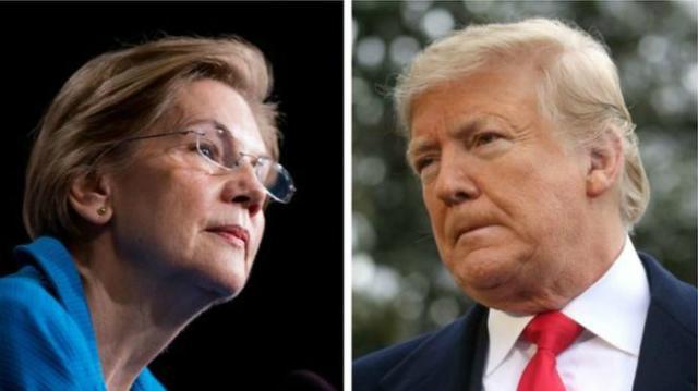 elizabeth warren - 108847454 105179439 trumpwarre 5767 3150 1572014494 - Elizabeth Warren – nữ ứng viên tổng thống muốn làm lại chủ nghĩa tư bản Mỹ