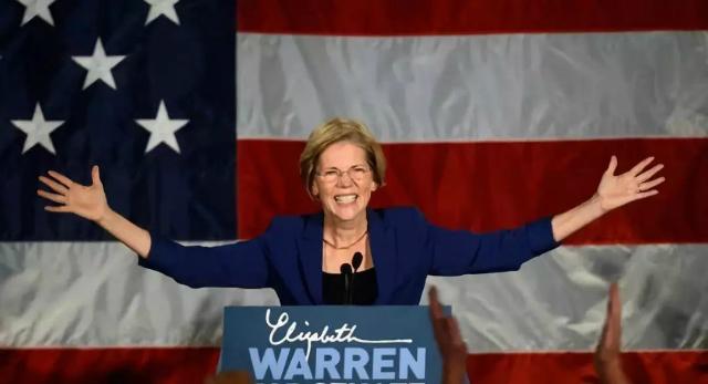 Bà Elizabeth Warren, một trong những ứng viên tổng thống Mỹ của đảng Dân chủ. Ảnh: Reuters.