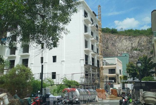 Nở rộ biệt thự trái phép ở Nha Trang