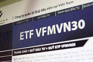 VFMVN30 ETF trở lại mua ròng cổ phiếu trong tuần 21-25/10