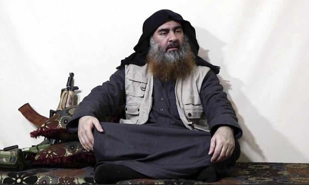 Thủ lĩnh IS Al Baghdadi.
