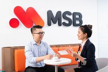 Lãi MSB tăng 2,5 lần trong 9 tháng