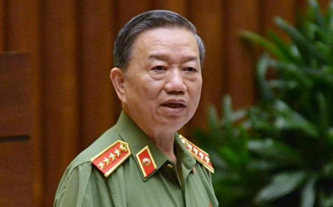 Đại tướng Tô Lâm trình Quốc hội việc sửa đổi luật quản lý, sử dụng vũ khí