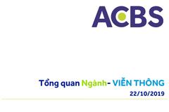 ACBS: Tổng quan ngành Viễn Thông