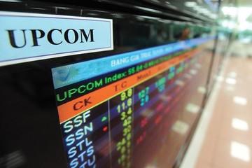 Một số cổ phiếu trên sàn UPCoM bị sai giá tham chiếu sáng 31/10