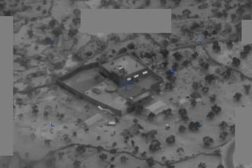 Mỹ công bố video đặc nhiệm Mỹ đột kích tiêu diệt thủ lĩnh IS