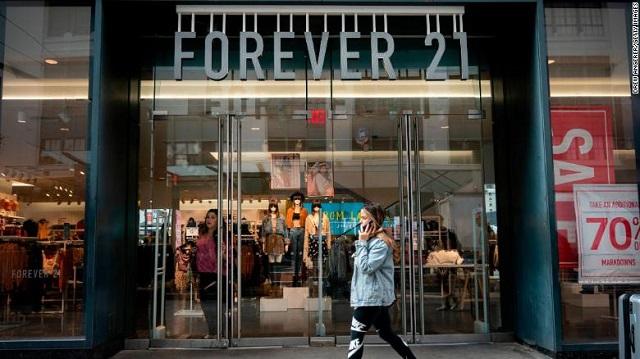 Sau khi đệ đơn xin phá sản, Forever 21 giờ ra sao?