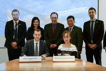 Vietjet và Airbus ký hợp đồng đặt mua 20 tàu bay A321XLR