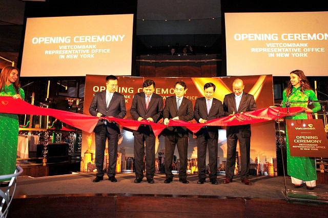 Vietcombank khai trương văn phòng đại diện tại Mỹ
