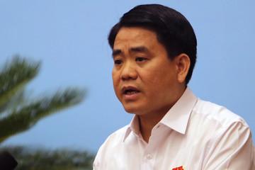 Chủ tịch Hà Nội 'xin rút kinh nghiệm' sự cố nước sông Đà
