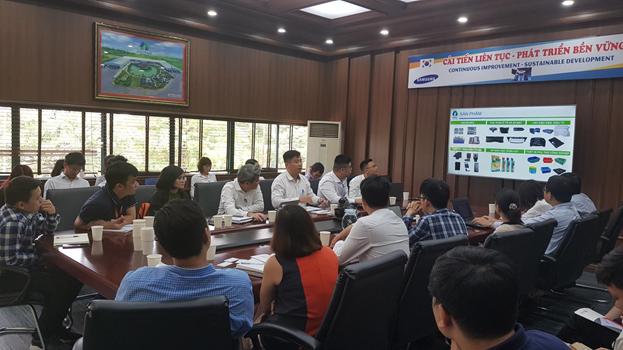 Buổi gặp mặt nhà đầu tư đã diễn ra tại TP Hà Nội.