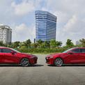 <p> Thaco Trường Hải vừa giới thiệu Mazda3 thế hệ thứ 7 tại Việt Nam. Xe có 10 phiên bản với 2 biến thể sedan và hatchback (Sport), cùng mức giá từ 719 đến 939 triệu đồng.</p>