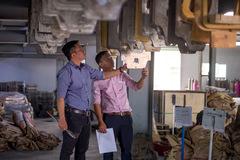 Doanh nghiệp sản xuất - xây dựng kinh doanh lao dốc
