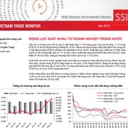 SSI Research: Báo cáo tình hình xuất nhập khẩu Việt Nam - Động lực xuất khẩu từ doanh nghiệp trong nước