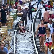 Sếp công ty Đường sắt: Cần cấm kinh doanh du lịch ven đường tàu