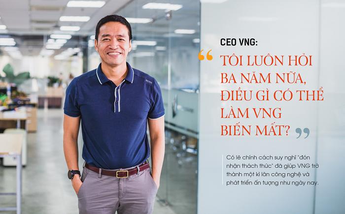 CEO VNG: 'Tôi luôn hỏi ba năm nữa, điều gì có thể làm VNG biến mất'