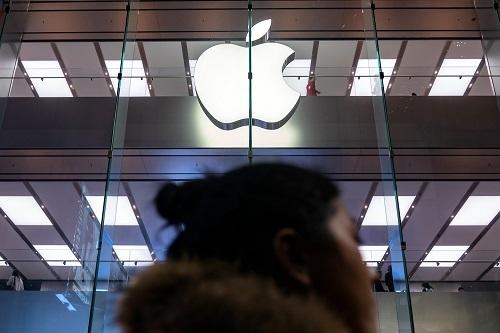 Vụ vi phạm quyền riêng tư xảy ra ở cửa hàng Apple Store nằm trong Trung tâm thương mại Valley Plaza ở thành phố Bakersfield, bang California. Ảnh: Mercury News