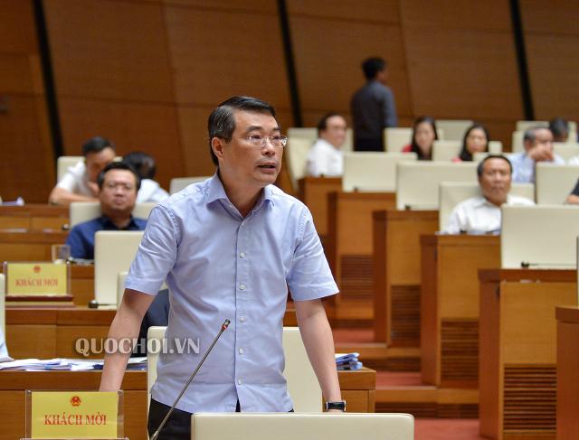 Thống đốc NHNN Lê Minh Hưng. Ảnh: Quốc Hội