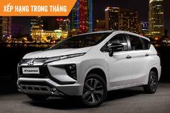 Top 10 ôtô bán chạy tháng 10: Mitsubishi Xpander 'soán ngôi' quán quân của Toyota Vios