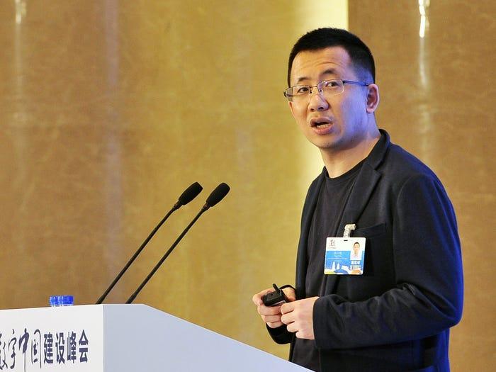 Chân dung tỷ phú giàu thứ 10 Trung Quốc - người đứng sau ứng dụng TikTok