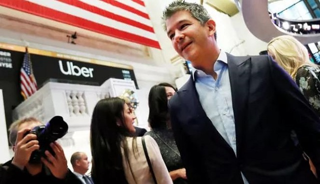 Cựu CEO Uber bán vội cổ phiếu lấy hơn nửa tỷ USD