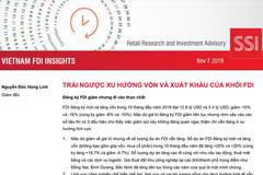 SSI Research: Báo cáo tình hình đầu tư trực tiếp nước ngoài tại Việt nam