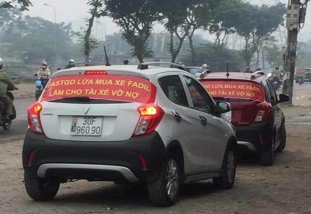 FastGo xem xét khởi kiện tài xế tố hãng này 'lừa mua xe VinFast Fadil'