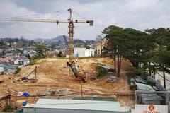 Dự án khách sạn hạng sang thi công 'chui' ở Đà Lạt