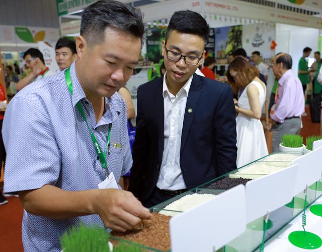 Những sản phẩm chất lượng cao trong chuỗi Farm-Food-Family của Tập đoàn PAN nhận được sự quan tâm của các đối tác trong và ngoài nước.