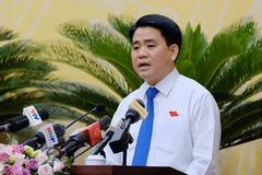 Ông Nguyễn Đức Chung nói lý do chọn doanh nghiệp của bà Đỗ Thị Kim Liên đầu tư nhà máy nước sông Đuống