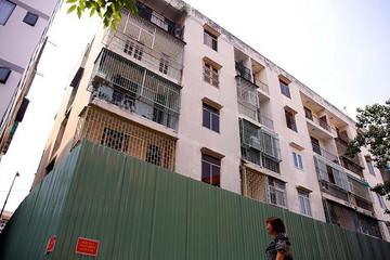 TP HCM chấp thuận chủ trương phá dỡ, xây dựng lại chung cư nghiêng 45 cm