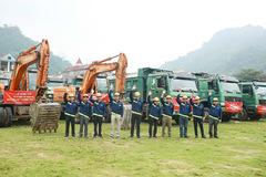 Hòa Bình làm nhà thầu chính cho dự án Vincom Hà Giang