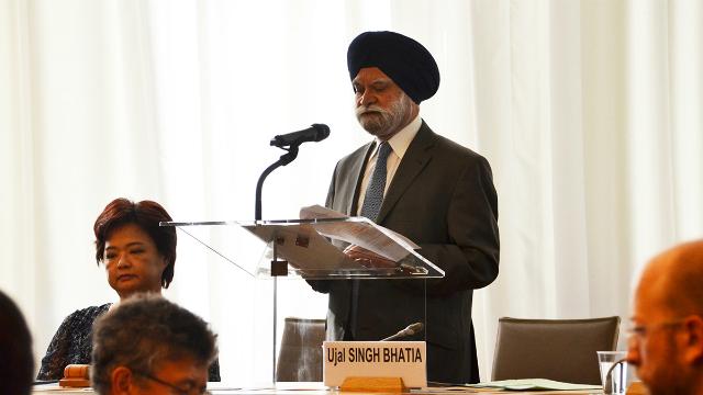 Chủ tọa cơ quan phúc thẩm WTO Ujal Bhatia. Ảnh: WTO.