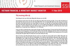 SSI Research: Báo cáo thị trường tài chính tiền tệ Việt Nam tháng 10/2019