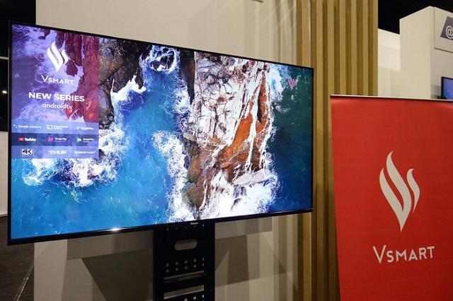 VinSmart ra mắt tivi thông minh dùng Android