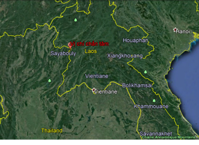 Trận động đất tại Lào có cường độ 6,1 độ ritcher đã gây rung chấn tại Hà Nội vào sáng nay, 21/11