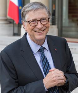 Bill Gates có thói quen đọc sách. Ảnh:Shutterstock